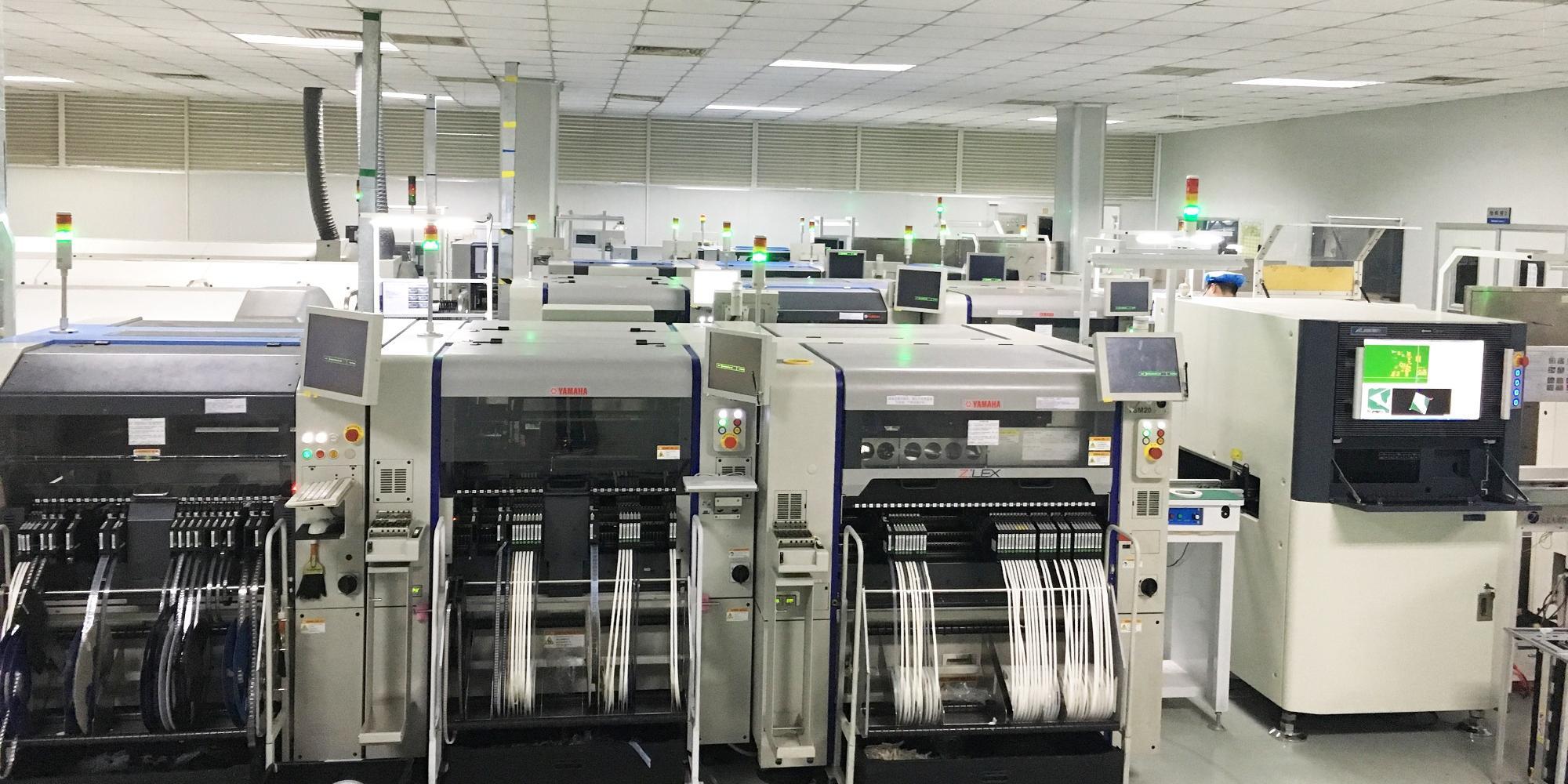 """梧集電子SMT車間全部升級為""""2+1""""線體"""