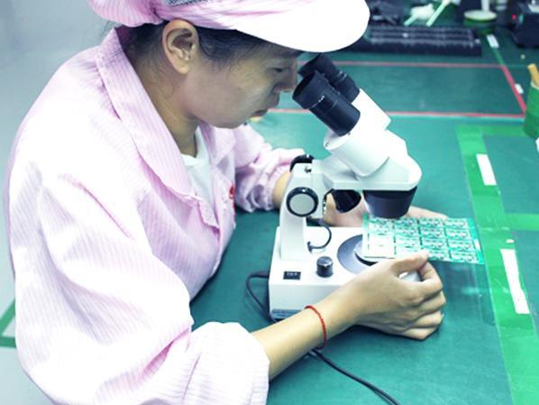 SMT贴片加工-显微镜检测