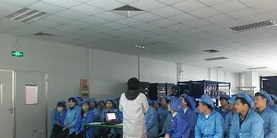 梧集电子组织员工进行安全生产教育培训